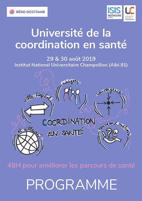 PROGRAMME UNIVERSITE de la coordination en santé 2019